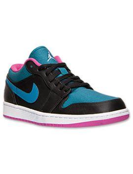 mens-air-jordan-retro-1-low-basketball-shoes by nike