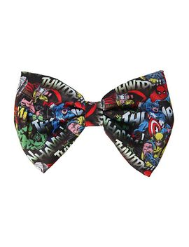 marvel-collage-hair-bow by hot-topic