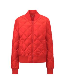 women-ultra-light-down-quilted-blouson-jacket by uniqlo