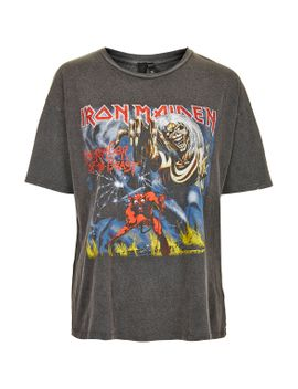 iron-maiden-tee-by-and-finally by topshop