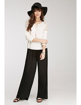 smocked-palazzo-pants by forever-21