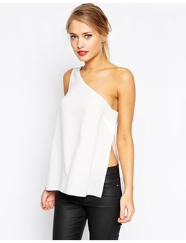 asos-one-shoulder-tank by asos-collection