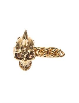 skull-and-chain-double-ring-(198489) by alexander-mcqueen