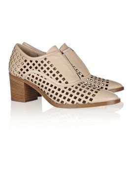 perforated-leather-oxford-style-pumps by reed-krakoff