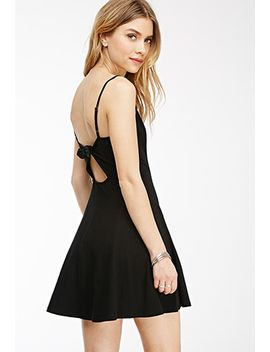 cutout-bow-a-line-dress by forever-21