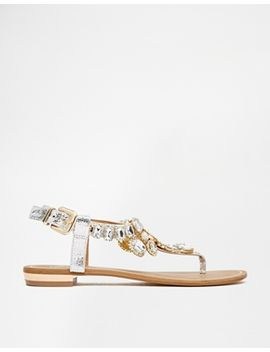 river-island-really-embellished-flat-sandals by river-island