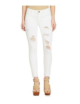 gb-distressed-denim-skinny-jeans by generic