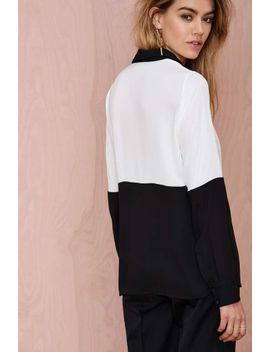 nasty-gal-off-the-block-color-block-blouse by nasty-gal