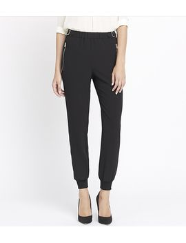 sacha-cuffed-soft-pant-with-buckles by dynamite