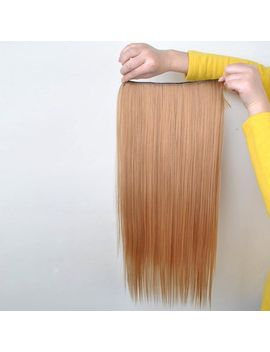 pretty-golden-overproof-long-straight-high-temperature-fiber-hair-extension-for-women by sammy-dress