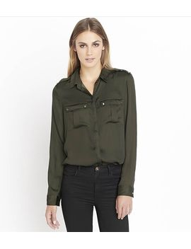 military-blouse-with-shoulder-tabs by dynamite