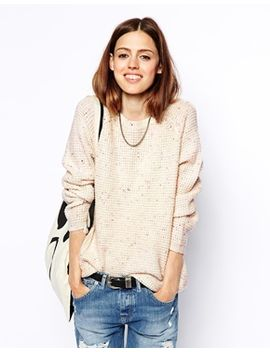 asos-ultimate-chunky-sweater-in-nep by asos-collection
