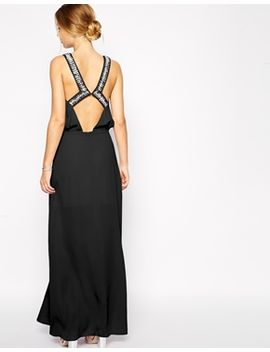 asos-embellished-back-maxi-dress by asos-collection