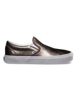 metallic-slip-on by vans