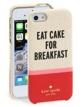 cake-for-breakfast-cutout-iphone-5-&-5s-case by kate-spade-new-york