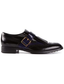 fringed-buckled-brogues by tods