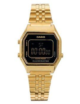 casio-la680wega-mini-digital-black-face-watch by casio