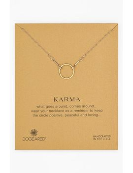reminder---karma-pendant-necklace by dogeared