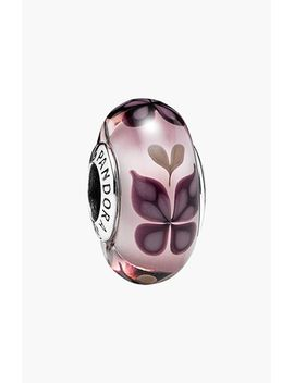 pink-butterfly-murano-glass-bead-charm by pandora