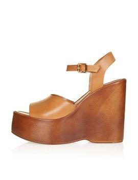 wallflower-wedge-sandals by topshop