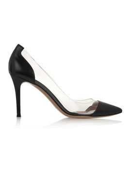 plexi-85-leather-and-pvc-pumps by gianvito-rossi