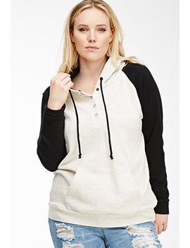 colorblocked-raglan-hoodie by forever-21