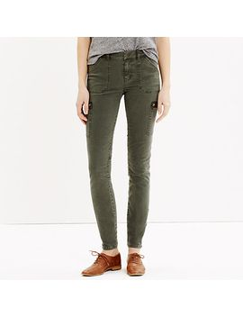skinny-ankle-zip-cargos by madewell