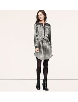 charmed-tie-waist-shirtdress by loft