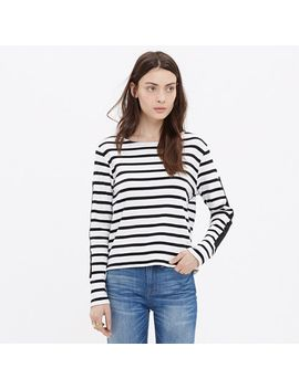 won-hundred®-striped-molly-top by madewell