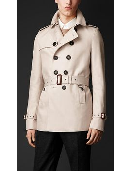 cotton-gabardine-trench-coat by burberry