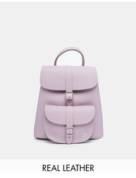 grafea-leather-mini-backpack-in-lilac by grafea