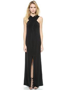 cross-front-maxi-dress by rachel-zoe