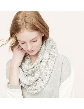textured-knit-infinity-scarf by loft
