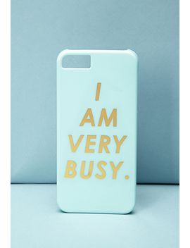 bando-busy-phone-case by forever-21