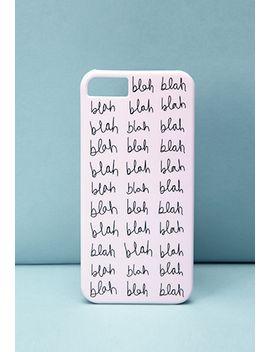 bando-blah-phone-case by forever-21