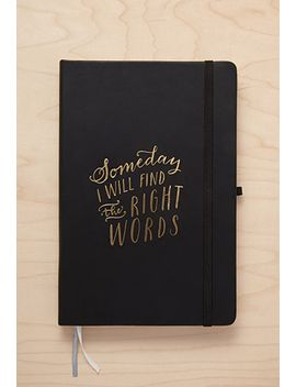 eccolo-find-the-right-words-journal by forever-21