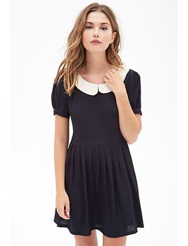 peter-pan-collar-dress by forever-21