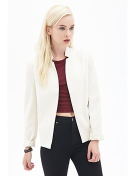 flat-collar-blazer by forever-21