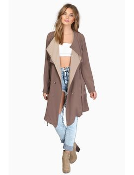 let-it-reign-mocha-trench-coat by tobi