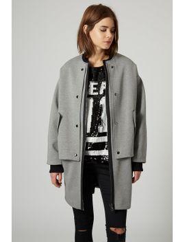 premium-jersey-longline-bomber-jacket by topshop