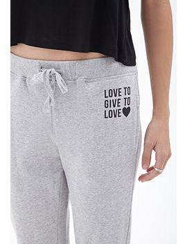 live-to-love-heathered-sweatpants by forever-21