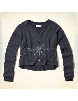celestial-graphic-cropped-sweatshirt by hollister