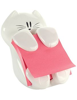 post-it-cat-figure-pop-up-note-dispenser,-3-inch-x-3-inch,-(cat-330),-colors-may-vary by post-it