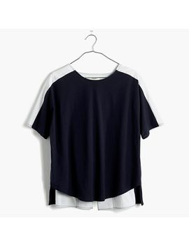 oxford-panel-tee by madewell