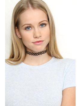 black-choker-necklace by brandy-melville