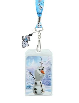 disney-frozen-olaf-lanyard by hot-topic