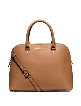cindy-large-saffiano-leather-satchel by michael-kors
