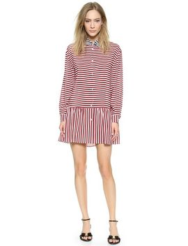 striped-shirt-dress by red-valentino