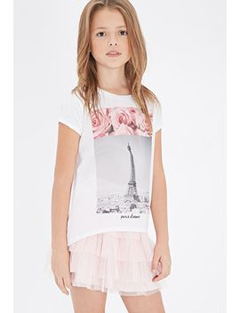 paris-dreamer-graphic-tee-(kids) by forever-21
