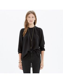 silk-memory-blouse by madewell